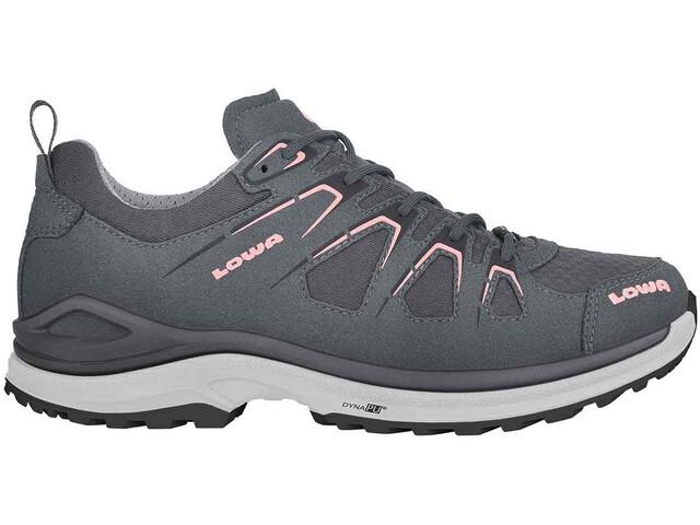 Lowa Innox Evo GTX Chaussures à tige basse Femme, asphalt/salmon